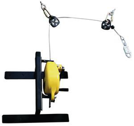 FRS-I Wall-Mounted Fall Arrest/Rescue Recovery System