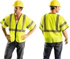 OccuLux® Class 3 Value Zipper-Front Mesh Vests